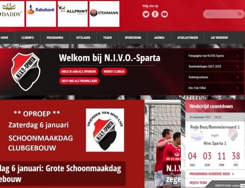 N.I.V.O. Sparta – Gehele WTB-installatie
