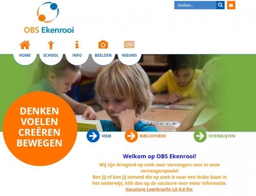 Nieuwbouw Bredeschool Ekenrooi te Waalre
