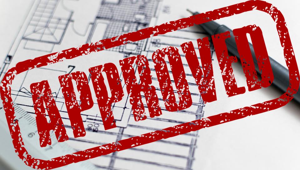 Goedgekeurd bouwontwerp